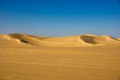 Woestijn in Egypte Stock Foto