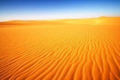 Woestijn in Egypte, Afrika royalty-vrije stock foto's