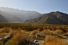 Woestijn en bergen rond Palm Springs Royalty-vrije Stock Afbeeldingen