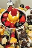 Woestijn - fruitsalade stock fotografie