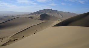 Woestijn Gobi, de Duinen van het Zand Royalty-vrije Stock Foto