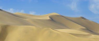 Woestijn Gobi, zandduinen Royalty-vrije Stock Foto's