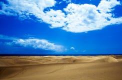 Woestijn in Gran Canaria stock foto's
