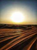 Woestijn Jeep Safari royalty-vrije stock foto's