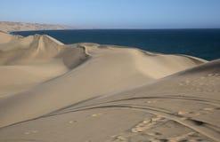 Woestijn in Namibië Royalty-vrije Stock Foto