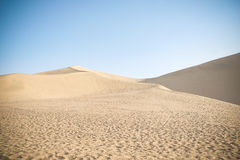 Woestijn op de zijdeweg Stock Foto's