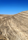 Woestijn Shobak in Jordanië Royalty-vrije Stock Foto