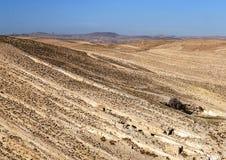 Woestijn Shobak in Jordanië Royalty-vrije Stock Fotografie