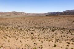 Woestijn Toneel royalty-vrije stock fotografie