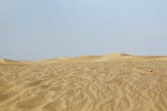 Woestijn - Tunesië royalty-vrije stock fotografie