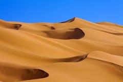 Woestijn van China stock afbeeldingen