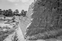 Woestijn van figuig, Marokko stock afbeelding