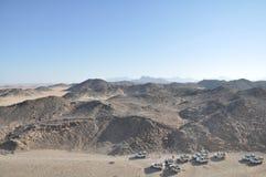 Woestijn van Hurghada Stock Foto