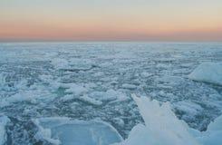 Woestijn van ijs royalty-vrije stock afbeeldingen
