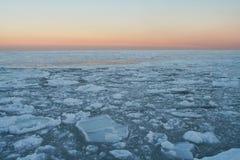 Woestijn van ijs #4 Stock Afbeeldingen