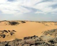 Woestijn van Libië Royalty-vrije Stock Foto's