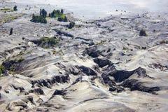 Woestijn van Volcano Bromo stock afbeeldingen