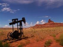 Woestijn vieuw Royalty-vrije Stock Afbeelding