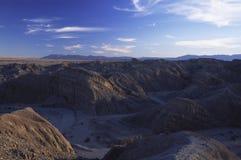 Woestijn in Zuidelijk Californië dichtbij San Diego Stock Afbeeldingen