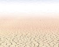 Woestijnachtergrond Stock Afbeelding