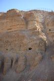 Woestijnberg in het Natuurreservaat van Ein Gedi Stock Afbeelding
