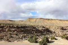 Woestijnbergen in zuidelijk Utah Royalty-vrije Stock Foto's