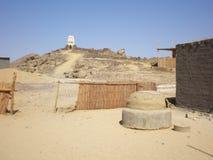 Woestijndorp Royalty-vrije Stock Foto's