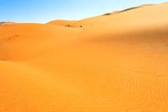 Woestijnduinen Royalty-vrije Stock Afbeeldingen