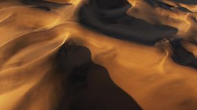 Woestijnduinen in Namib-woestijn, Namibië, Afrika royalty-vrije stock afbeelding