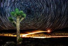 Woestijnexploratie Stock Foto