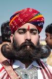 Woestijnfestival, 2018, Jaisalmer, Rajasthan, India Royalty-vrije Stock Foto