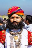 Woestijnfestival, 2018, Jaisalmer, Rajasthan, India Stock Foto