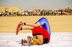 Woestijnfestival, Jaisalmer, Rajasthan, India, Azië royalty-vrije stock foto