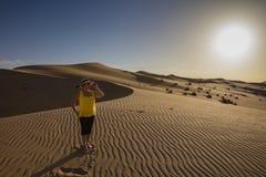 Woestijnfotografie Royalty-vrije Stock Afbeeldingen
