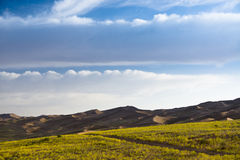Woestijnhemel Royalty-vrije Stock Afbeelding