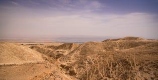 Woestijnhemel royalty-vrije stock foto's