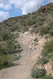 Woestijnheuvel Arizona stock afbeelding