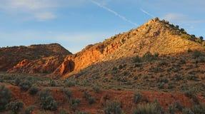Woestijnheuvels Stock Foto