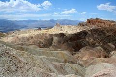 Woestijnheuvels die als maanland kijken Royalty-vrije Stock Fotografie