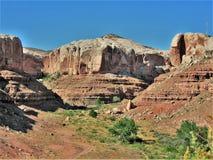 Woestijnklippen stock fotografie