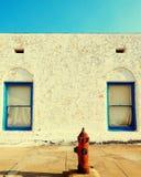 Woestijnmotel, Doodsvallei NV stock foto's