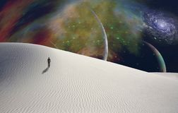 Woestijnplaneet Royalty-vrije Stock Foto