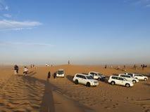 Woestijnsafari, Doubai stock fotografie