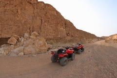 Woestijnsafari in Marsa Alam stock foto's