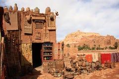 Woestijnstad Stock Afbeeldingen