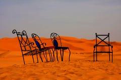 Woestijnstoelen Royalty-vrije Stock Foto