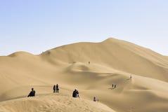 Woestijntoerisme Stock Afbeeldingen