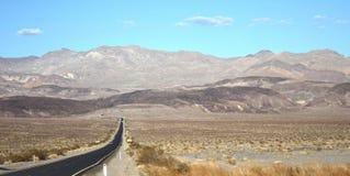 Woestijnweg Stock Foto