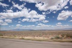 Woestijnweg in Arizona II Royalty-vrije Stock Fotografie