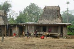 Wogo-Dorf, Flores-Insel Stockbilder